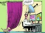 Cartoonist Mike Luckovich  Mike Luckovich's Editorial Cartoons 2013-12-18 whistle