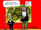 Cartoonist Mike Luckovich  Mike Luckovich's Editorial Cartoons 2013-12-20 2014