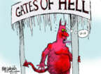 Cartoonist Mike Luckovich  Mike Luckovich's Editorial Cartoons 2014-01-07 ice
