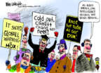 Cartoonist Mike Luckovich  Mike Luckovich's Editorial Cartoons 2014-01-08 science
