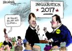 Cartoonist Mike Luckovich  Mike Luckovich's Editorial Cartoons 2014-01-23 2016 Election Chris Christie