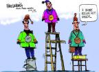 Cartoonist Mike Luckovich  Mike Luckovich's Editorial Cartoons 2014-02-06 athlete