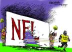 Cartoonist Mike Luckovich  Mike Luckovich's Editorial Cartoons 2014-02-12 athletics
