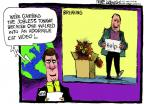 Cartoonist Mike Luckovich  Mike Luckovich's Editorial Cartoons 2014-02-13 cat