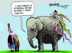 Cartoonist Mike Luckovich  Mike Luckovich's Editorial Cartoons 2014-02-19 before