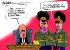 Cartoonist Mike Luckovich  Mike Luckovich's Editorial Cartoons 2014-03-05 Russia Ukraine
