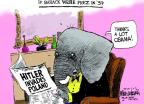 Cartoonist Mike Luckovich  Mike Luckovich's Editorial Cartoons 2014-03-06 Russia Ukraine