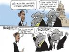 Cartoonist Mike Luckovich  Mike Luckovich's Editorial Cartoons 2014-03-13 health care repeal