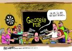 Cartoonist Mike Luckovich  Mike Luckovich's Editorial Cartoons 2014-03-27 concealed gun