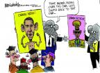 Cartoonist Mike Luckovich  Mike Luckovich's Editorial Cartoons 2014-04-02 anger