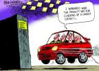 Cartoonist Mike Luckovich  Mike Luckovich's Editorial Cartoons 2014-04-06 penalty