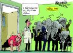 Cartoonist Mike Luckovich  Mike Luckovich's Editorial Cartoons 2014-04-18 gonna