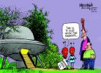 Cartoonist Mike Luckovich  Mike Luckovich's Editorial Cartoons 2014-04-27 manager