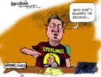 Cartoonist Mike Luckovich  Mike Luckovich's Editorial Cartoons 2014-05-09 sport