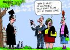 Cartoonist Mike Luckovich  Mike Luckovich's Editorial Cartoons 2014-05-22 degree