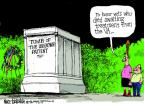 Cartoonist Mike Luckovich  Mike Luckovich's Editorial Cartoons 2014-05-23 honor