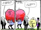 Cartoonist Mike Luckovich  Mike Luckovich's Editorial Cartoons 2014-06-18 tax loophole
