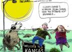 Cartoonist Mike Luckovich  Mike Luckovich's Editorial Cartoons 2014-06-26 climate change