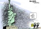 Cartoonist Mike Luckovich  Mike Luckovich's Editorial Cartoons 2014-07-10 impeachment