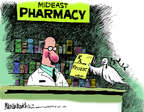 Cartoonist Mike Luckovich  Mike Luckovich's Editorial Cartoons 2014-08-01 pharmacy