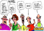 Cartoonist Mike Luckovich  Mike Luckovich's Editorial Cartoons 2014-08-05 gonna