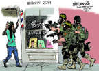 Cartoonist Mike Luckovich  Mike Luckovich's Editorial Cartoons 2014-08-15 2014