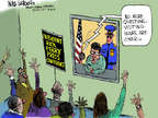 Cartoonist Mike Luckovich  Mike Luckovich's Editorial Cartoons 2014-08-19 Rick