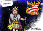 Cartoonist Mike Luckovich  Mike Luckovich's Editorial Cartoons 2014-08-27 flag