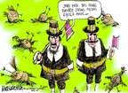 Cartoonist Mike Luckovich  Mike Luckovich's Editorial Cartoons 2014-10-28 die
