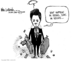 Cartoonist Mike Luckovich  Mike Luckovich's Editorial Cartoons 2005-10-06 happen