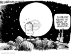 Cartoonist Mike Luckovich  Mike Luckovich's Editorial Cartoons 2005-10-14 yellowcake