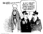 Cartoonist Mike Luckovich  Mike Luckovich's Editorial Cartoons 2006-01-27 catch