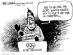 Mike Luckovich  Mike Luckovich's Editorial Cartoons 2006-02-20 2010 Olympics