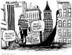 Cartoonist Mike Luckovich  Mike Luckovich's Editorial Cartoons 2006-06-23 New York