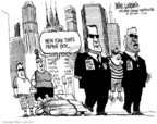 Cartoonist Mike Luckovich  Mike Luckovich's Editorial Cartoons 2006-06-30 press freedom