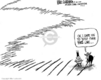 Cartoonist Mike Luckovich  Mike Luckovich's Editorial Cartoons 2006-07-12 North Korea