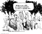 Cartoonist Mike Luckovich  Mike Luckovich's Editorial Cartoons 2006-07-17 Mike