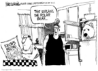 Cartoonist Mike Luckovich  Mike Luckovich's Editorial Cartoons 2006-08-04 ice