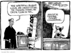 Cartoonist Mike Luckovich  Mike Luckovich's Editorial Cartoons 2006-08-21 illegal