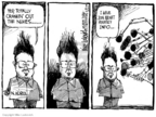 Cartoonist Mike Luckovich  Mike Luckovich's Editorial Cartoons 2006-08-24 Kim Il-Sung