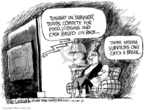 Cartoonist Mike Luckovich  Mike Luckovich's Editorial Cartoons 2006-08-29 catch