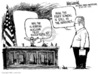 Cartoonist Mike Luckovich  Mike Luckovich's Editorial Cartoons 2006-10-10 North Korea
