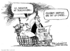 Mike Luckovich  Mike Luckovich's Editorial Cartoons 2006-10-20 population growth