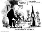 Cartoonist Mike Luckovich  Mike Luckovich's Editorial Cartoons 2006-10-29 apple
