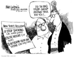 Cartoonist Mike Luckovich  Mike Luckovich's Editorial Cartoons 2006-12-01 action
