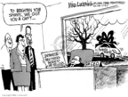 Cartoonist Mike Luckovich  Mike Luckovich's Editorial Cartoons 2006-12-30 manager