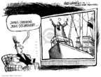 Cartoonist Mike Luckovich  Mike Luckovich's Editorial Cartoons 2007-03-01 James