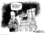 Cartoonist Mike Luckovich  Mike Luckovich's Editorial Cartoons 2007-03-16 performance