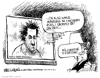Cartoonist Mike Luckovich  Mike Luckovich's Editorial Cartoons 2007-03-19 Major League Baseball