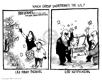 Cartoonist Mike Luckovich  Mike Luckovich's Editorial Cartoons 2007-05-24 fruit